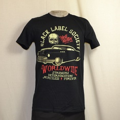 t-shirt black label society hell riding hot rod