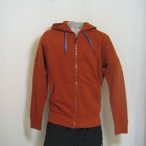 hooded vest fred perry j1218-539 oranje