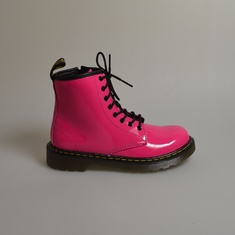 dr martens delaney hot pink patent