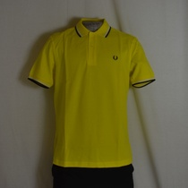 polo fred perry m1200-783 geel