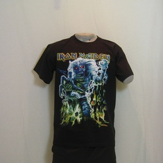 t-shirt iron maiden beast on the road