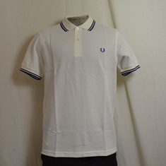 polo fred perry m3600-129 snow white
