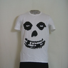 t-shirt misfits face allover wit