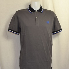 polo fred perry m4567-g85 gunmetal