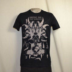t-shirt bring me the horizon skull and bones