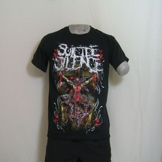 t-shirt suicide silence cross
