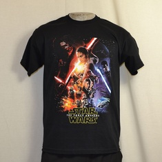 t-shirt star wars the force unleashed