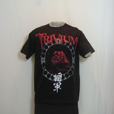 t-shirt trivium shogun cover