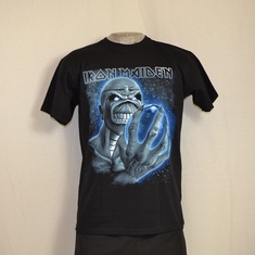 t-shirt iron maiden different world new