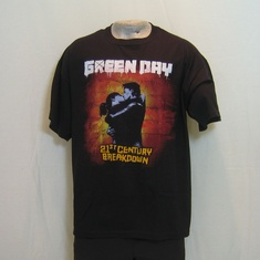t-shirt greenday 21ste century breakdown