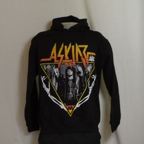 hooded sweater asking alexandria skeleton arms