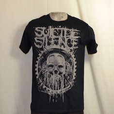 t-shirt suicide silence head machine