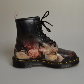 dr martens 1460 power rose crystal