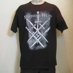 t-shirt machine head swords