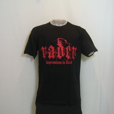 t-shirt vader impressions in blood