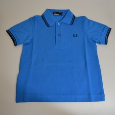 kinderpolo fred perry sy1200-b76 blauw