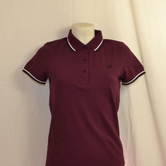 polo fred perry dames g9762-799 bordeaux