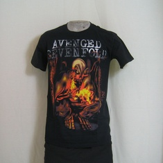 t-shirt avenged sevenfold firebat