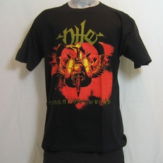 t-shirt nile annihalition of the wicked