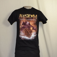 t-shirt alestorm sunset on the golden