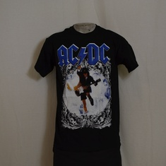 t-shirt acdc blown up