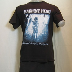 t-shirt machine head through the ashes