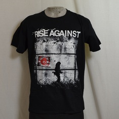 t-shirt rise against borders