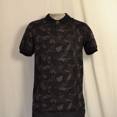 polo fred perry m1589-102 zwarte camo