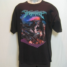 t-shirt dragonforce album cover