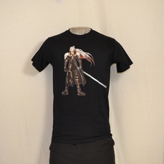 t-shirt final fantasy sephiroth