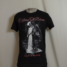 t-shirt children of bodom halo of blood