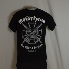 t-shirt motorhead the world is yours