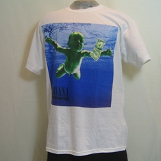 t-shirt nirvana nevermind wit