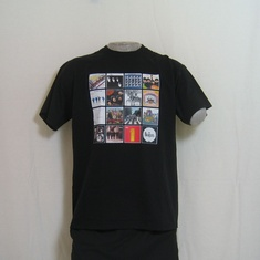 t-shirt beatles album covers