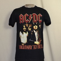 t-shirt acdc highway to hell zwart