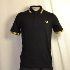 polo fred perry m12-157 zwart