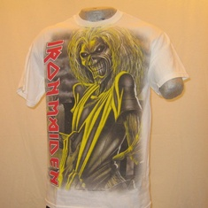 t-shirt iron maiden killers 2 wit