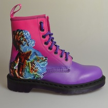 dr martens 1460 pink and purple ombre