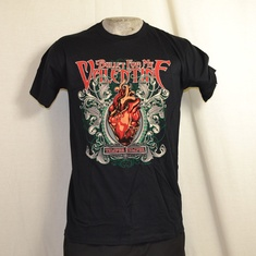 t-shirt bullet for my valentine temper temper heart