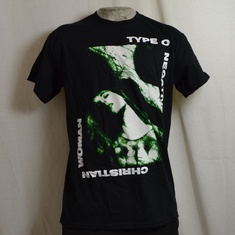 t-shirt type o negative christian woman