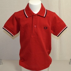 kinder polo fred perry sy3600-401 rood