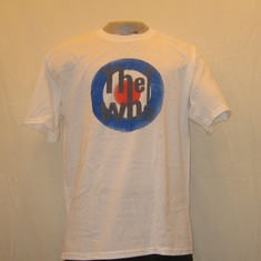 t-shirt the who bulls eye