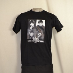 t-shirt beatles 1963