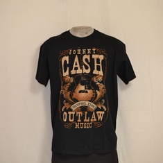 t-shirt johnny cash outlaw