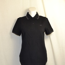 polo fred perry dames zwart g3600-243