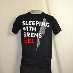 t-shirt sleeping with sirens feel