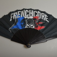 waaier frenchcore flag