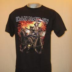 t-shirt iron maiden dead on the road