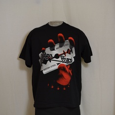 t-shirt judas priest razor