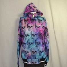 trainingsjack dames dreamskull hooded